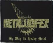 METALUCIFER(Japan) / My Way Is Heavy Metal (Gold Patch)