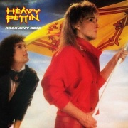 HEAVY PETTIN (UK) / Rock Ain't Dead + 1 (2019 reissue)