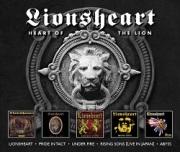 LIONSHEART (UK) / Heart Of The Lion (5CD box set)