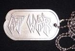AT WAR (US) / Metal Dog Tag