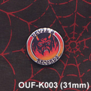 DEVIL'S RECORDS/PIN (31mm)