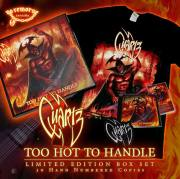QUARTZ (UK) / Too Hot To Handle (Limited box set)