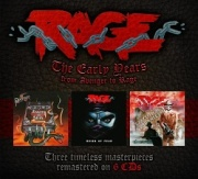 RAGE (Germany) / The Early Years - From Avenger To Rage (6CD box set)