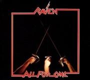 RAVEN (UK) / All For One + 5 (2017 reissue)