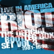 RIOT (US) / The Official Bootleg Box Set Volume 3: 1981-1988 - Live In America (6CD box set)