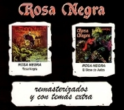ROSA NEGRA (Spain) / Rosa Negra + El Beso De Judas (2CD box set)