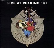 SAMSON (UK) / Live At Reading '81 + 3 (2017 reissue)
