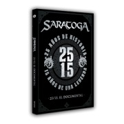 SARATOGA (Spain) / 25/15, El Documental (DVD)