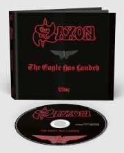 SAXON (UK) / The Eagle Has Landed - Live + 6 (2018 reissue digibook)