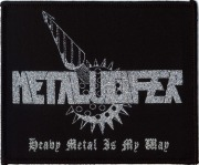 METALUCIFER (Japan) / Heavy Metal Is My Way (Silver Patch)