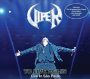 VIPER (Brazil) / To Live Again - Live In Sao Paulo + 1 (2021 reissue with slipcase)
