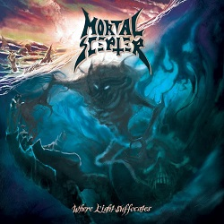 MORTAL SCEPTER (France) / Where Light Suffocates
