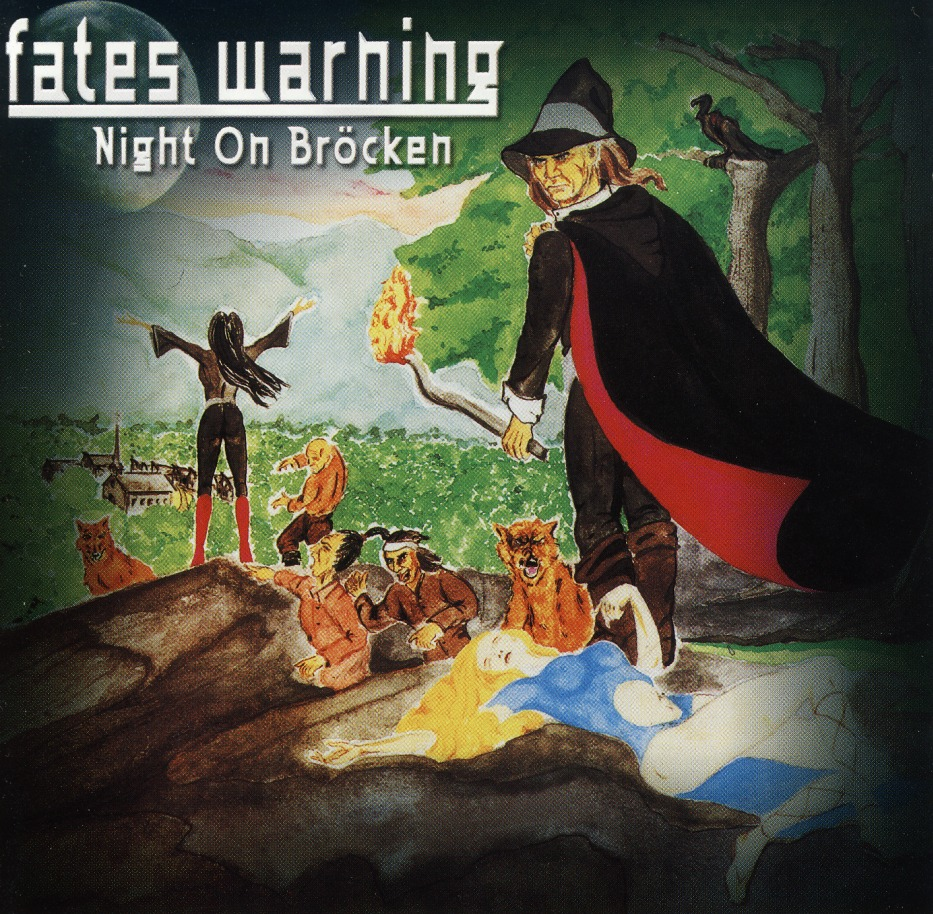 FATES WARNING (US) / Night On Brocken + 4