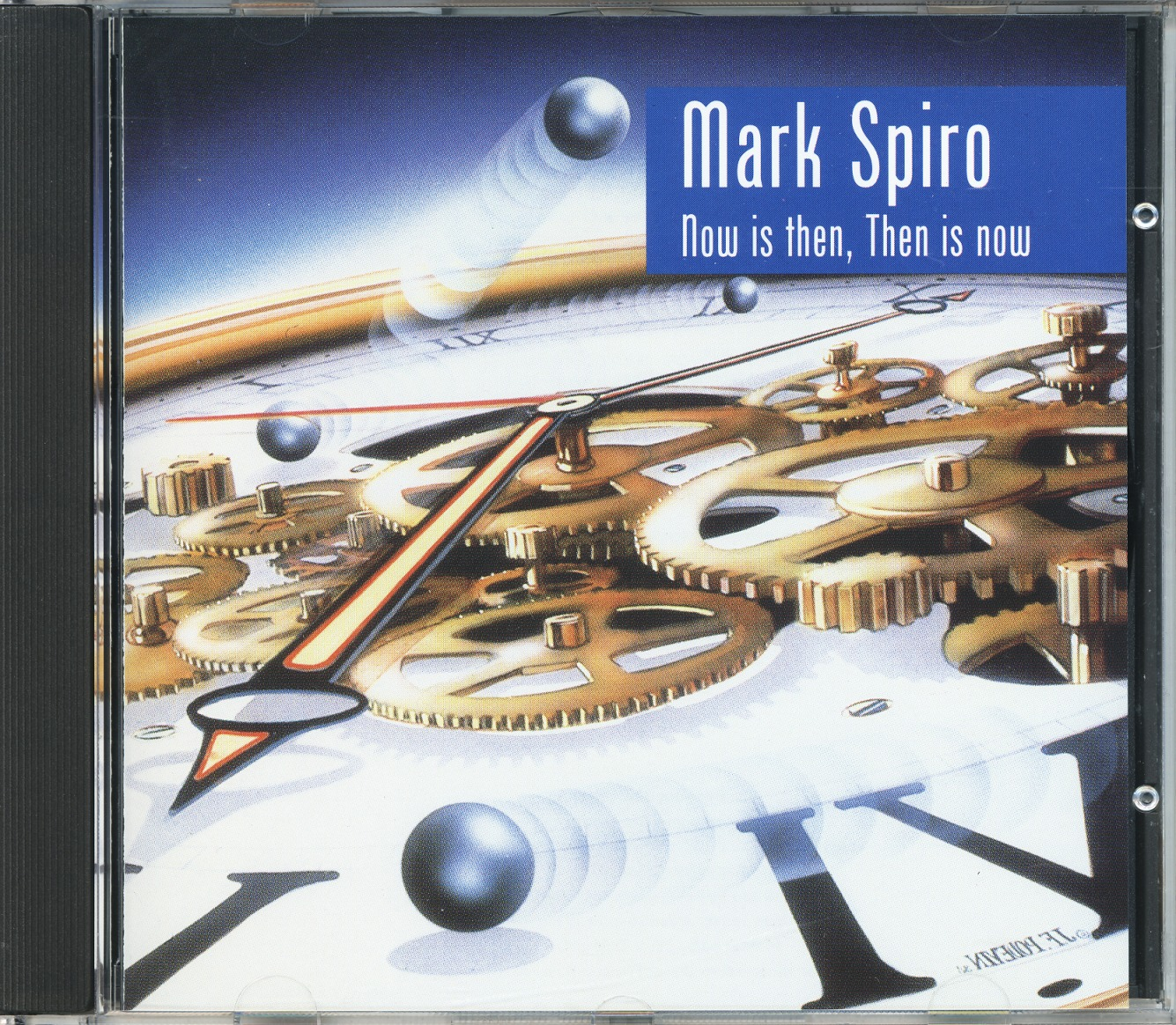 MARK SPIRO/NOW IS THEN, THEN IS NOW (USED)