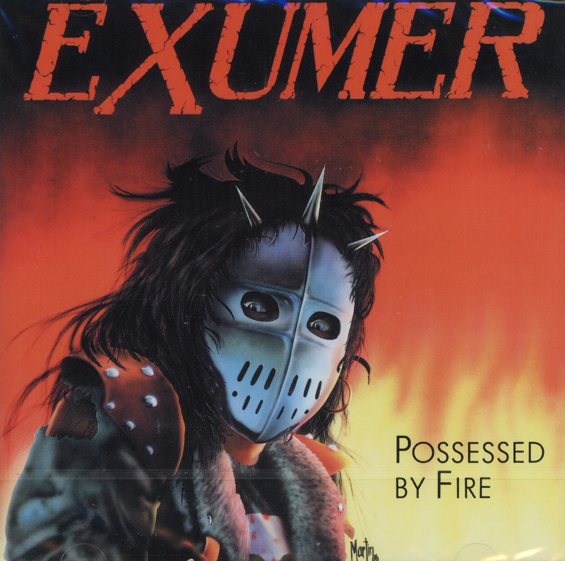 EXUMER (Germany) / Possessed By Fire + 3