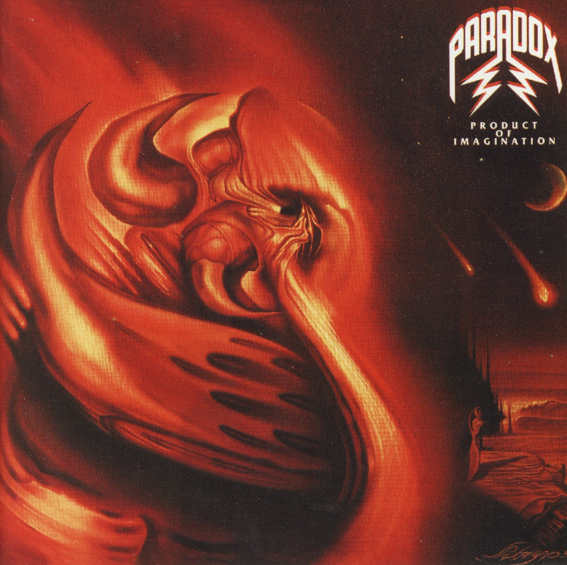 PARADOX (Germany) / Product Of Imagination + 4 (Germany edition)
