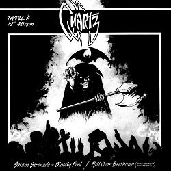 QUARTZ (UK) / Satans Serenade + Bloody Fool / Roll Over Beethoven