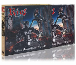 RIOT (US) / Archives Volume 3: 1987-1988 (CD+DVD)