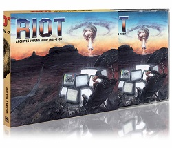 RIOT (US) / Archives Volume 4: 1988-1989 (CD+DVD)
