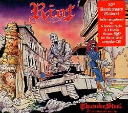 RIOT (US) / Thundersteel - 30th anniversary edition (CD+DVD digipak)