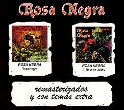 ROSA NEGRA (Spain) / Rosa Negra + El Beso De Judas (2CD box set)