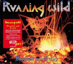 RUNNING WILD (Germany) / Branded And Exiled + 5 (Deluxe Expanded Edition)