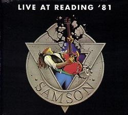 SAMSON (UK) / Live At Reading '81 + 3 (2017 reissue)