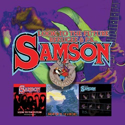 SAMSON (UK) / Look To The Future + Refugee + P.S.... (3CD box set)