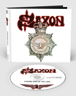 SAXON (UK) / Strong Arm Of The Law + 8 (2018 reissue digibook)
