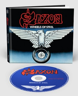 SAXON (UK) / Wheels Of Steel + 8 (2018 reissue digibook)
