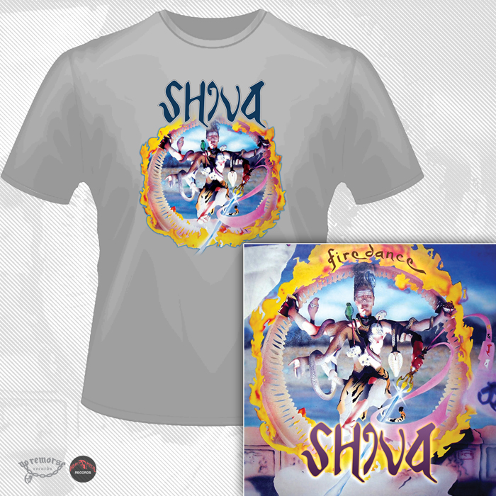 SHIVA (UK) / Firedance + 2 (Limited edition with T-Shirt)