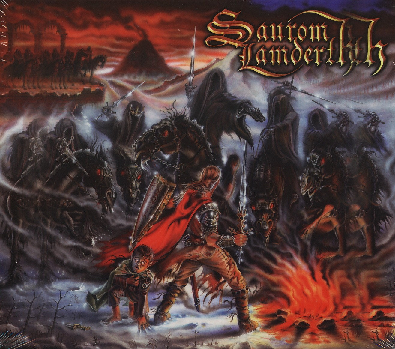 SAUROM LAMDERTH (Spain) / Sombras Del Este (2CD)