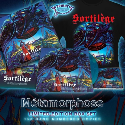 SORTILEGE (France) / Metamorphose (Limited box set)