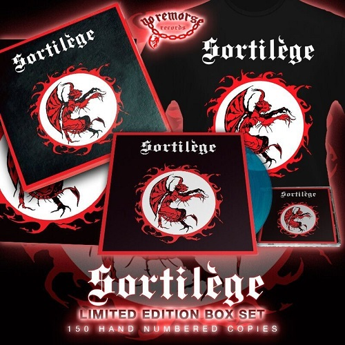 SORTILEGE (France) / Sortilege + 4 demo tracks (Limited box set)