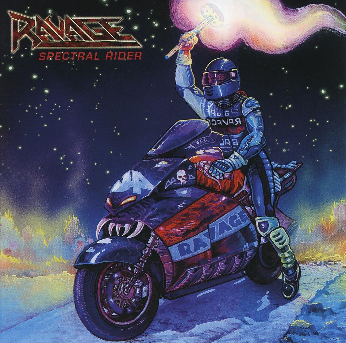 RAVAGE (US/Boston) / Spectral Rider + 1