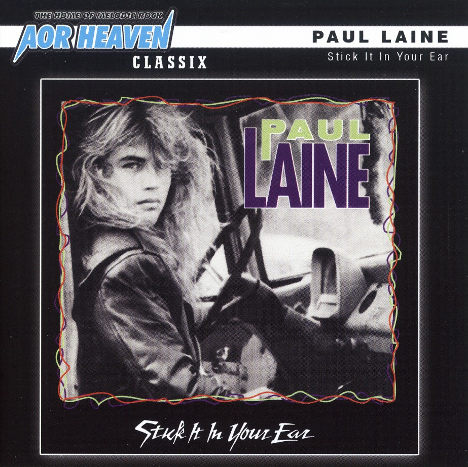 PAUL LAINE / Stick It In Your Ear + 4 (2011 reissue)