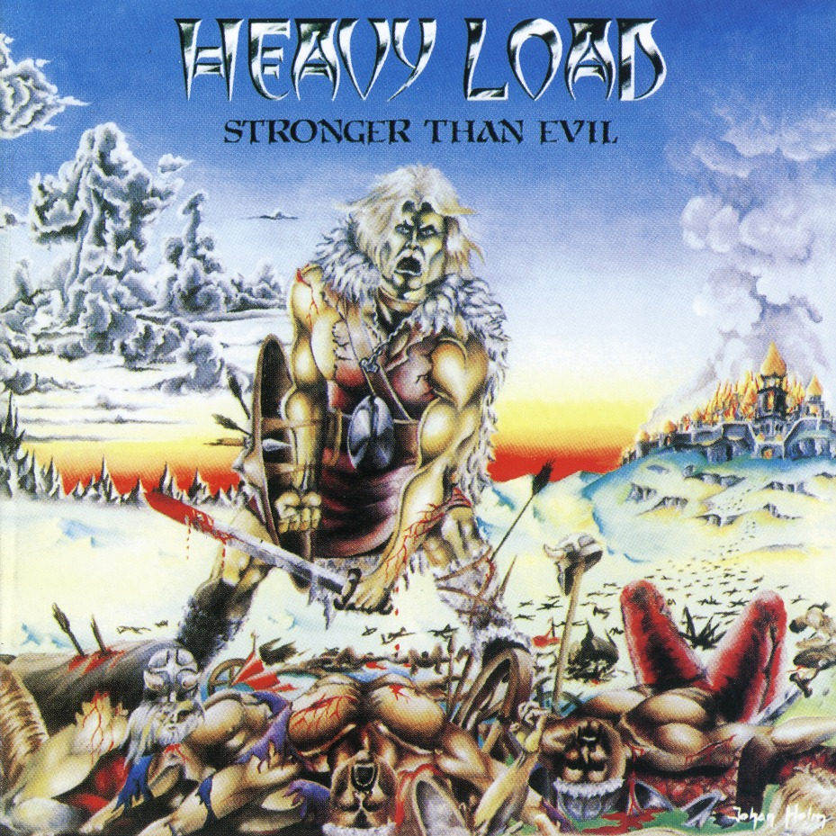 HEAVY LOAD (Sweden) / Stronger Than Evil (collector's item)