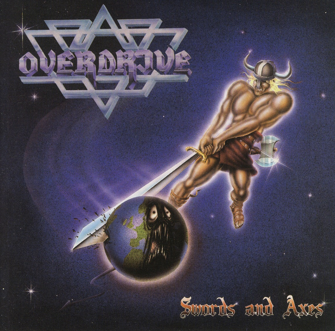 OVERDRIVE (Sweden) / Swords And Axes + 6