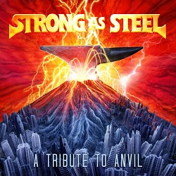 V.A. / Strong As Steel - A Tribute To Anvil