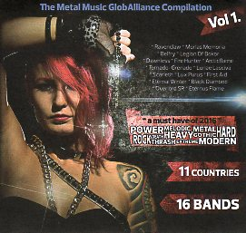 V.A. / The Metal Music GlobAlliance Compilation Vol. 1