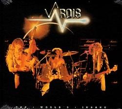 VARDIS (UK) / The World's Insane + 3 (2017 reissue)