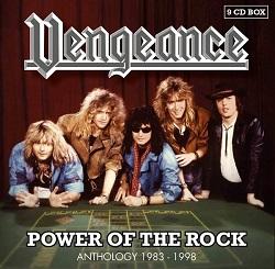 VENGEANCE (Netherlands) / Power Of The Rock - Anthology 1983-1998 (9CD box set)
