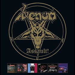 VENOM (UK) / Assault! (6CD box set)