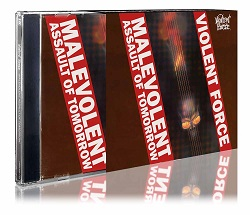 VIOLENT FORCE (Germany) / Malevolent Assault Of Tomorrow (2018 reissue)