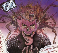 WARFARE (UK) / Mayhem, Fuckin' Mayhem (2018 reissue)