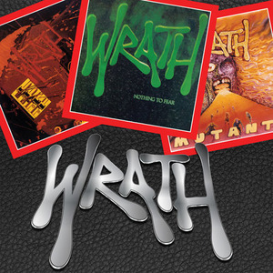 WRATH(US) / Fit Of Anger + Nothing To Fear + Mutants (2CD+DVD set)