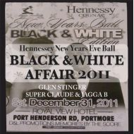 GRENG STINGER,SUPER CLAUDE&JAGGA B / BLACK & WHITE 2011JAMAICA(CD-R)