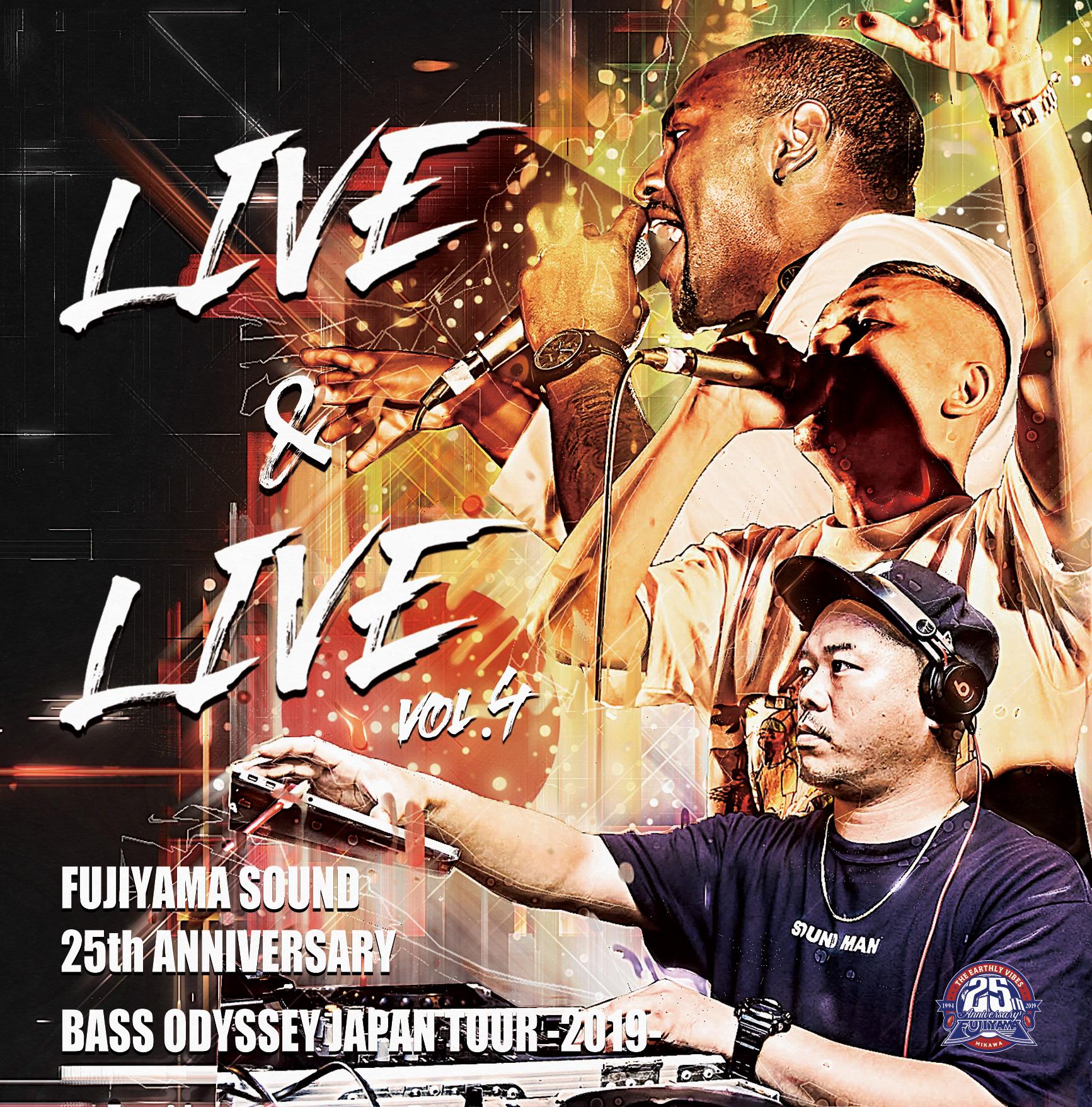 FUJIYAMA SOUND / LIVE & LIVE VOL.4