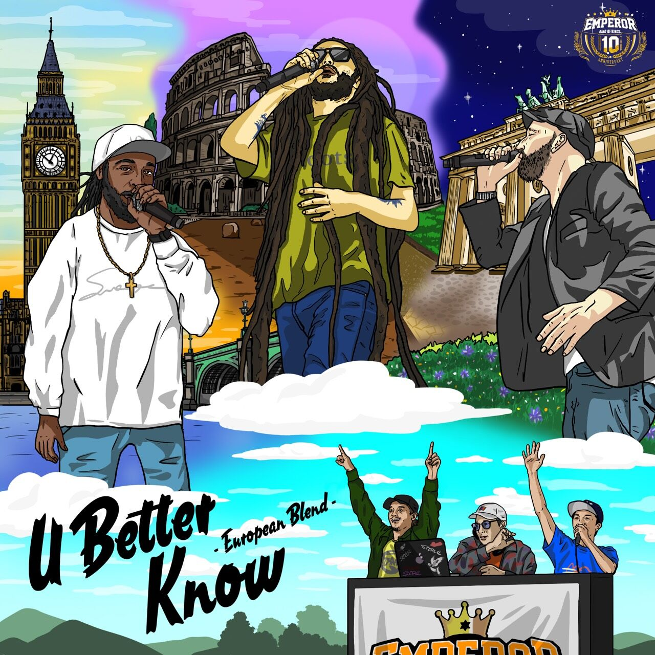 EMPEROR / U BETTER KNOW Mixed By Yo-chang