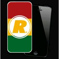 """R""LOGO(RASTA COLOR)iPhone(5/5s)ケース"